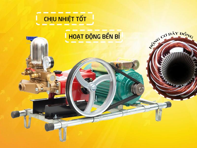 Máy rửa xe dây đai LS30 động cơ dây đồng hoạt động bền bỉ